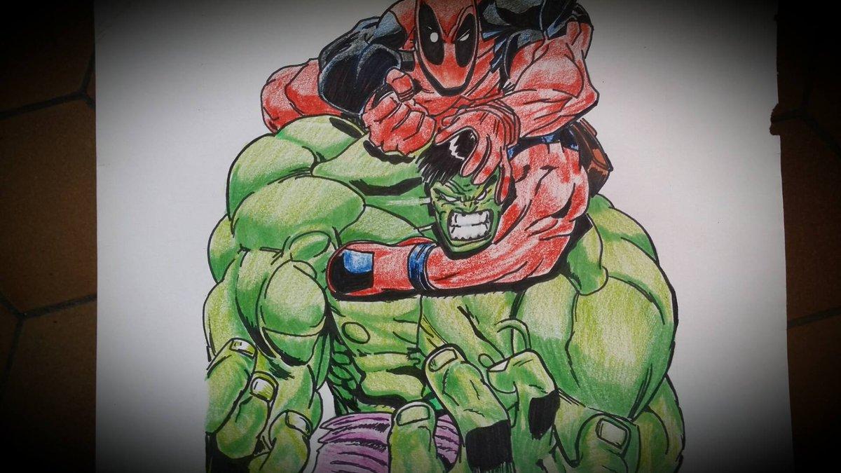 Avengers Dessin De Hulk