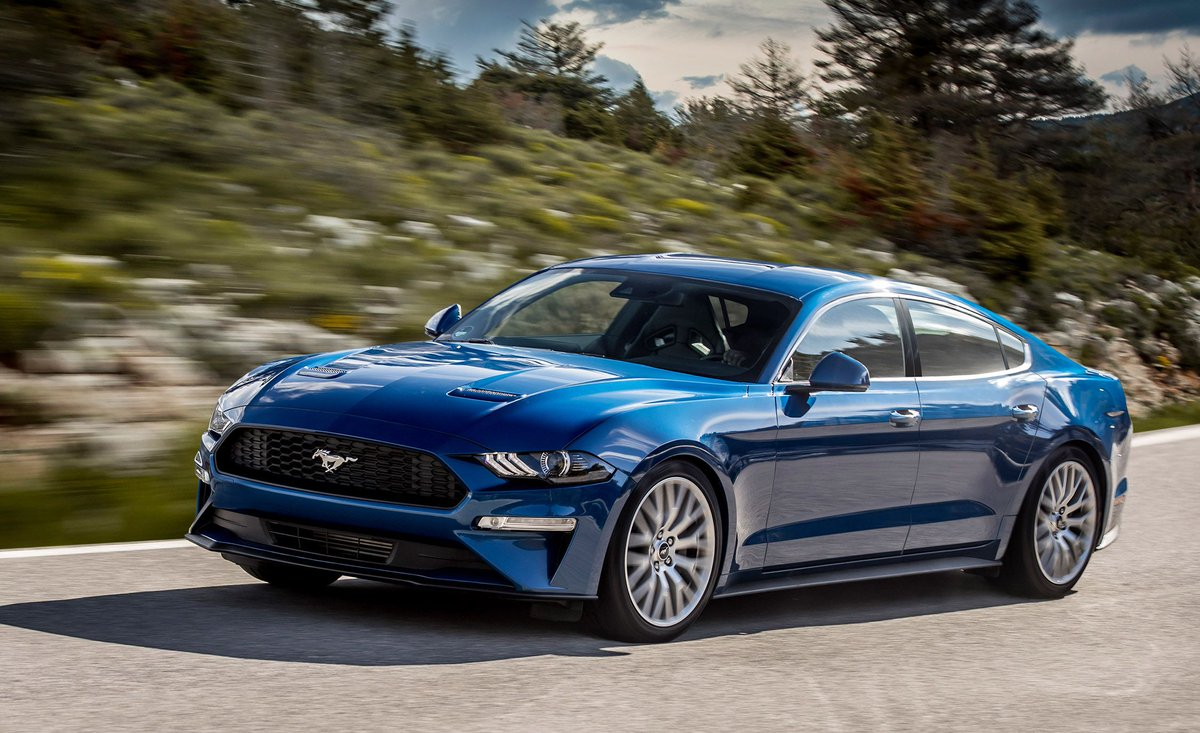 Car and driver on twitter a four door ford mustang is not as crazy as it sounds https t co zhydmfdryw