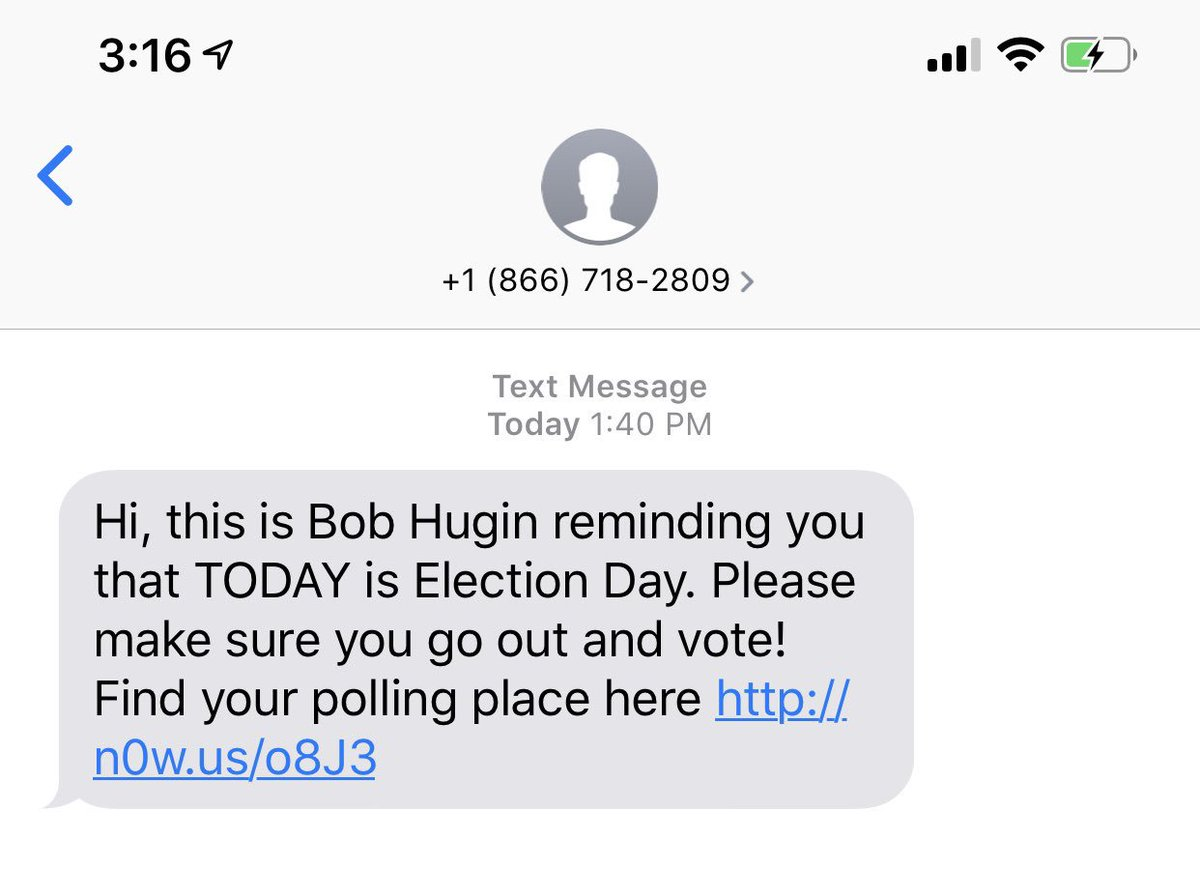 Isnt This A Violation Of The Mobile Advertising And Telephone Consumer Protection Act 1991 Reason Alone For Me Not To Vote Him