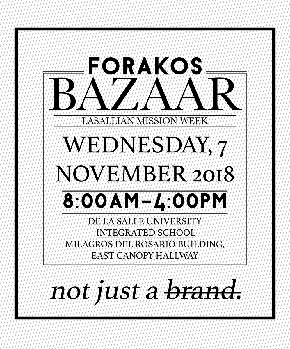 SOMETHING NEW AND ORIGINAL. See what's in store tomorrow. November 7th. See you there! #FORAKOS #NotJustABrand