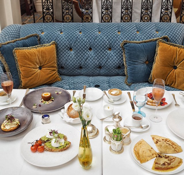 Thank you @thelanesborough for a stunning breakfast - one of the best ever! #vsukvisits #londonhotels