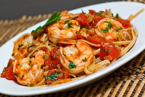 Add shrimp to this yummy pasta dish for a meal high in protein and low in calories: https://t.co/JEOB4QTi6v https://t.co/XDJcsH2MFc