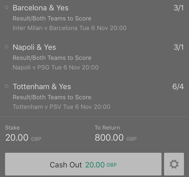 3 X £200 GIVEAWAY! 💰  If this treble lands i will be giving away £200 to 3 people who enter!   To enter:   1) Retweet this post 🔄  2) Turn notifications on and reply showing proof   3) Make sure to be following @BigTipsterr   Good luck everyone who is entering 🍀