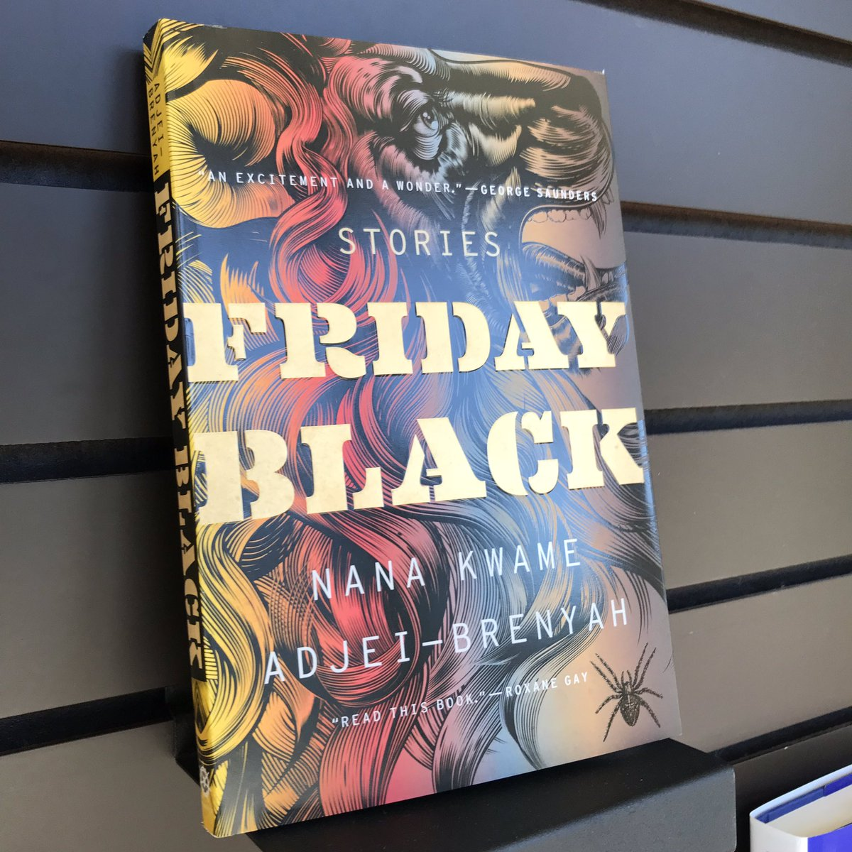 Tonight at 6:30! Nana Kwame Adjei-Brenyah (@NK_Adjei) reads from and signs Friday Black.