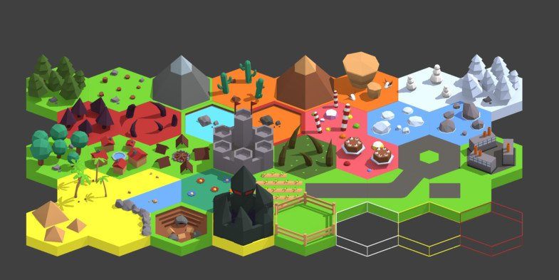 My free hexagon pack is available on the Unity Asset Store!   https://www. assetstore.unity3d.com/#!/content/132 355 &nbsp; …   Enjoy!  #gamedev #unity3d #Blender3d <br>http://pic.twitter.com/uF9AEsX0Hf