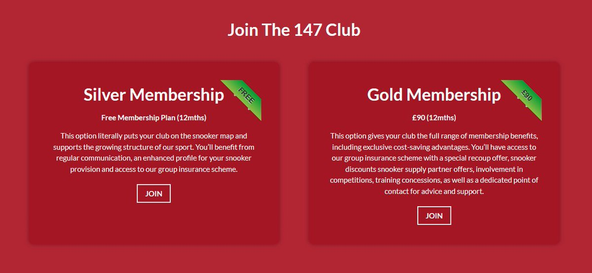 test Twitter Media - 🖊 JOIN THE 147 CLUB | Learn more about how your club can be a part of our exclusive affiliation scheme and take advantage of the fantastic benefits available 👉 https://t.co/6bzM2rXsSr  #Cue4All https://t.co/JV5HAQgveM