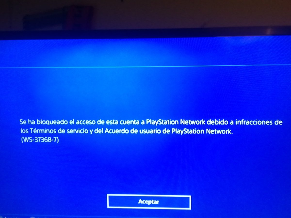 Banned People From Psn