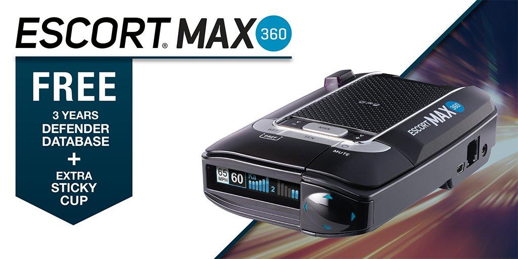 Escort Radar Max 360 >> Escort Radar On Twitter The Max 360 Provides The Most