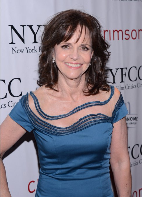 Happy Birthday to Sally Field best known for Mrs. Doubtfire, The Flying Nun and more is celebrating her 72 years.