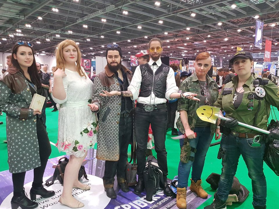 Far Cry 6 On Twitter Tag Your Eden S Gate Survival Squad Excellent Farcry5 Group Cosplay By Laufeys0n Mon Starschreck Pasta Cosplay Abyssinian Cosplay Uzireloaded And Redcoatplays Https T Co Aaqiwonn8u