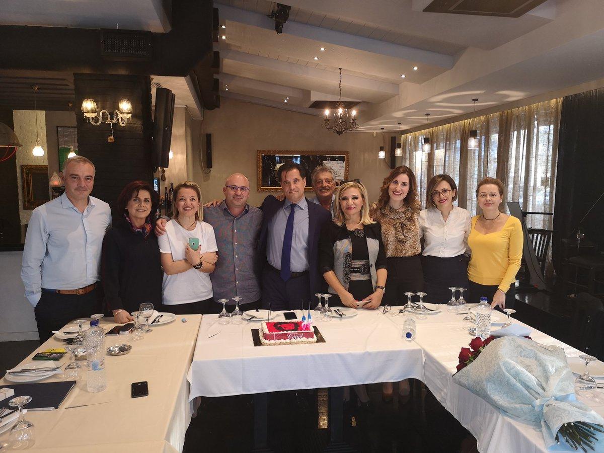 Ο Άδωνις Γεωργιάδης γιόρτασε τα γενέθλια του με τούρτα Τσε Γκεβάρα που του μοιάζει DrVbCeAAw8QQ