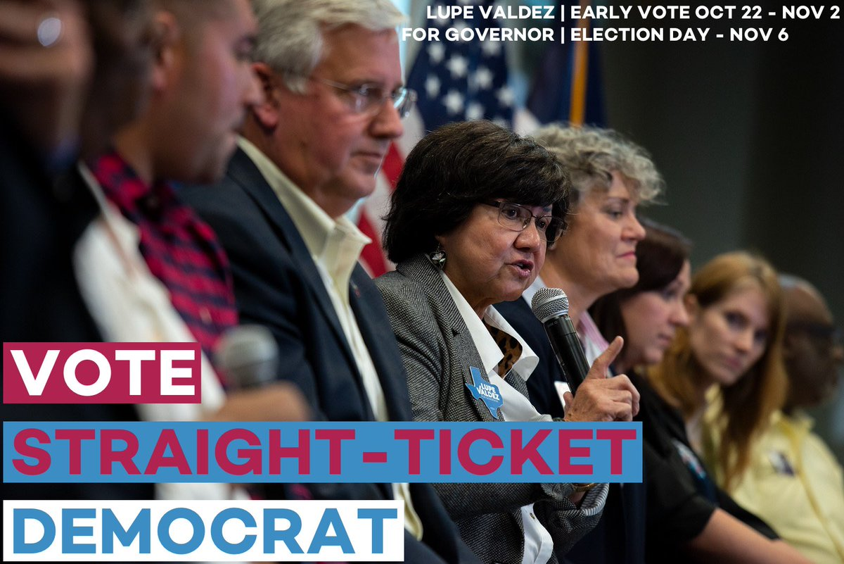 It's time we vote for the future of Texas. Vote for @texasdemocrats who are ready to represent you and no one else.   ✔️Confirm your polling location at https://t.co/SlNr5npnkx and make a plan to vote before 7pm TODAY!  #ElectionDay #VamosValdez https://t.co/ZMwsr6wzO8