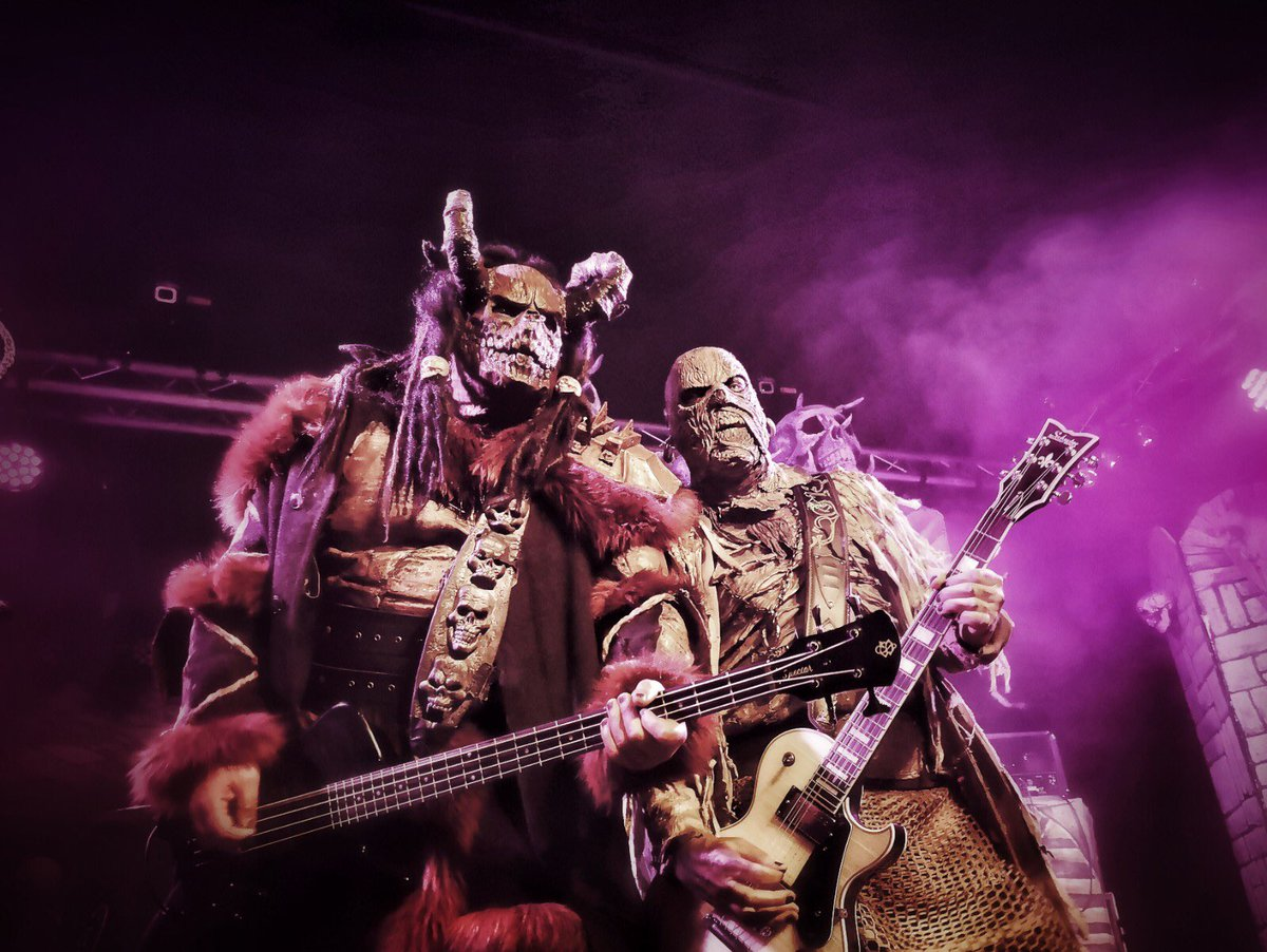 Heidelberg was a blast - thank you! Bratislava gets it in a few hours...  Pic: Jony Oittinen  #lordi #sexorcism #live #metal #hardrock #music #monsters #horror #finland #music #heidelberg #germany #bratislava #slovakia #sextourcism #sex https://t.co/Cgw30Fouga