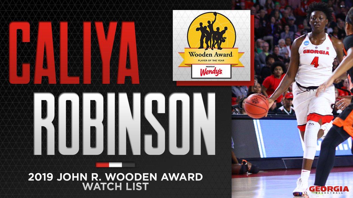 Georgia Basketball On Twitter Watch List Caliya Robinson