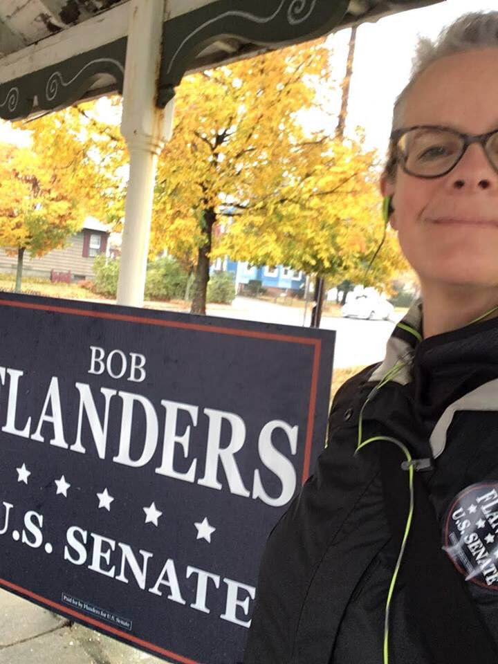 Make sure to wave if you see a Flanders volunteer holding a sign and most importantly, VOTE! Polls are open until 8 https://t.co/Vffdg46nPa