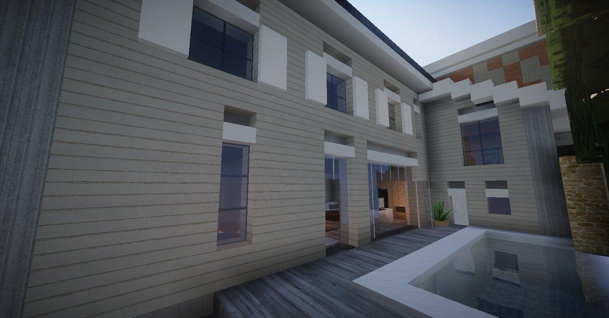 Wavv3s On Twitter Minecraft Jolie Petite Maison Traditionnel Moderne Sur Amberstone Fr Au Warp Alixville Minecraft Architecture