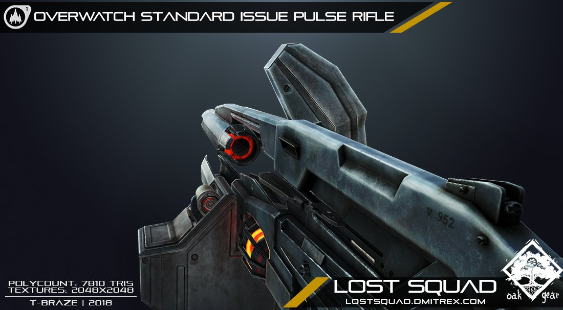 Lambdageneration On Twitter Stunning Remake Of Half Life 2 S Ar2 Pulse Rifle By The Developers Of Lost Squad They Ve Also Put Out A Post Sharing Their Progress Remaking Other Half Life 2 Weapons As