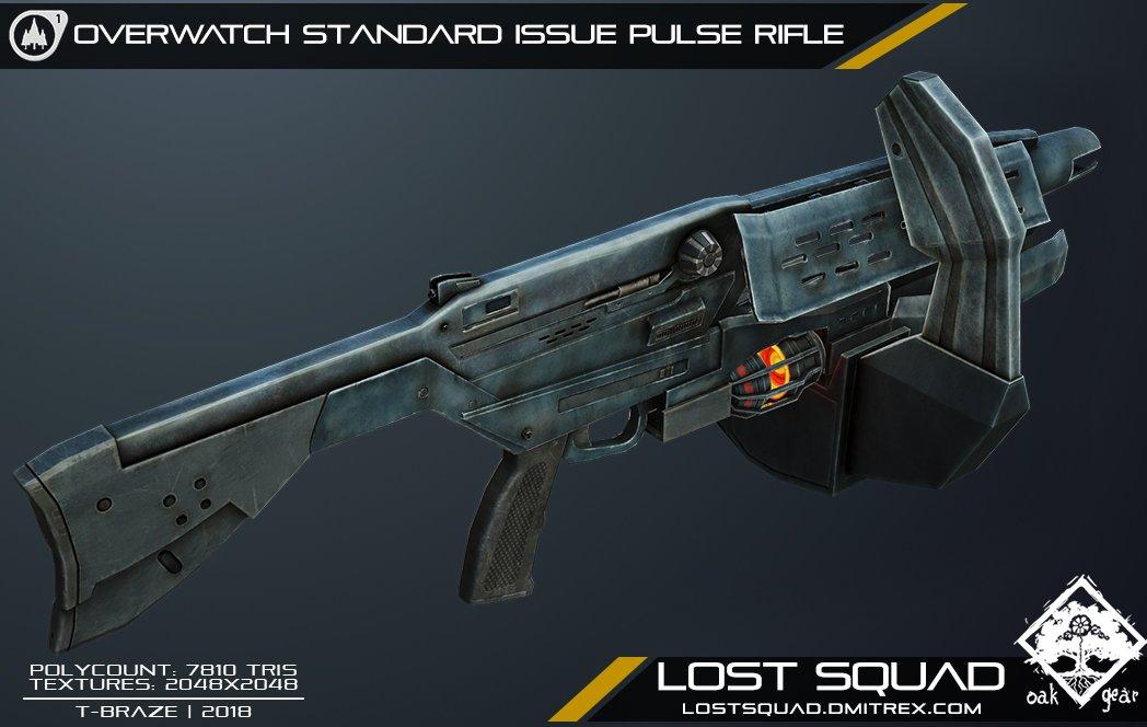 Half life rifle