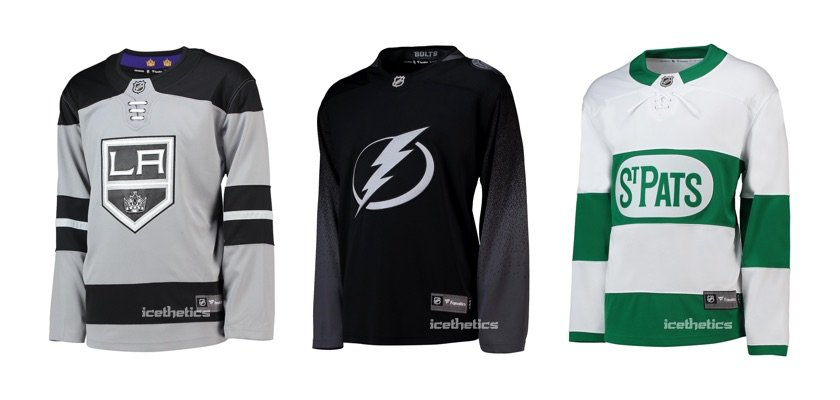 d1390cb52 The St. Pats jerseys are coming back! The jerseys were last worn in 2017  for a game against the Chicago Blackhawks
