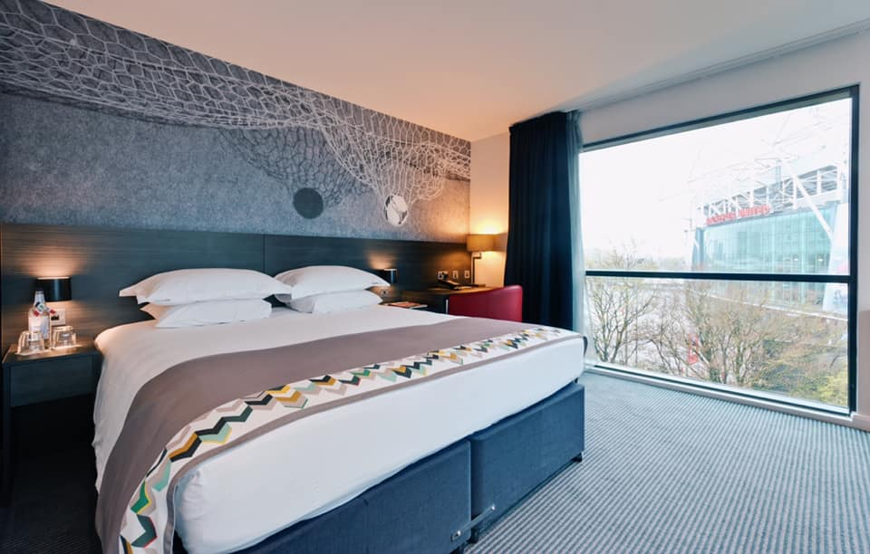 Leading Hotel nominee @hotelfootballuk is definitely scoring points with us with rooms as dreamy as this. ⚽💭 #LeadingHotel