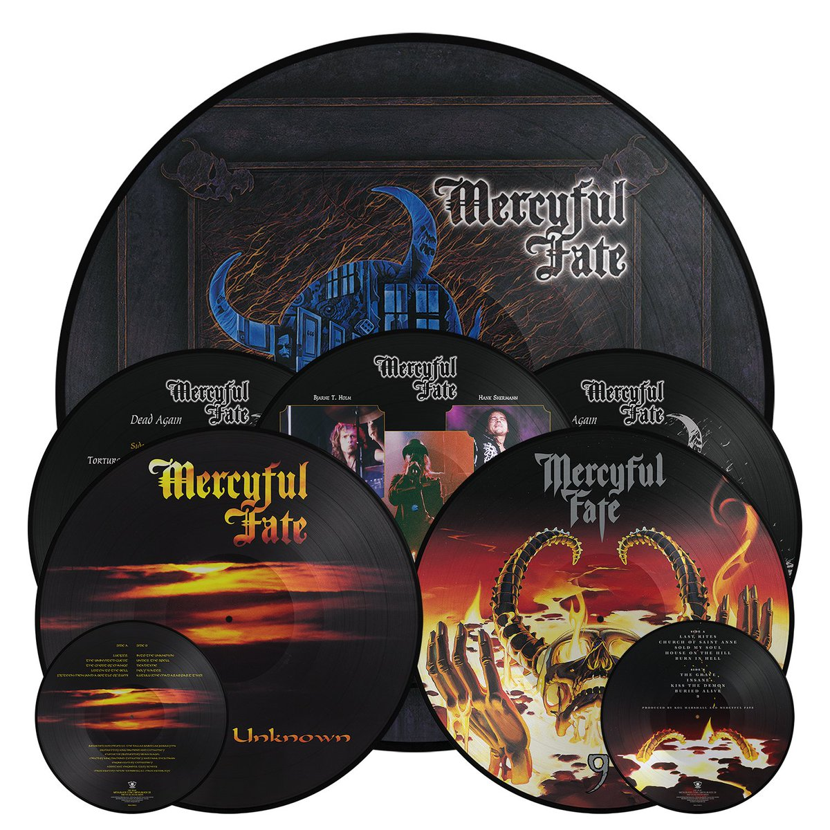 King Diamond No Presents For Christmas Picture Disc ✓ Diamond Paradise