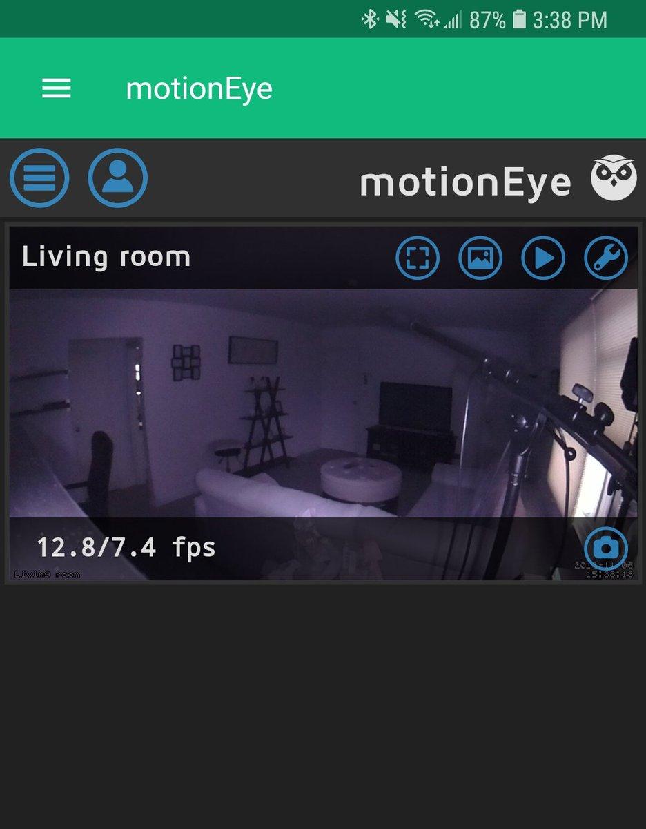 Biểu tượng đánh dấu #motioneye trên Twitter