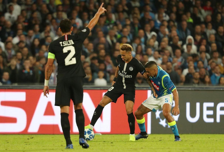 أهداف مباراة باريس سان جيرمان ونابولي
