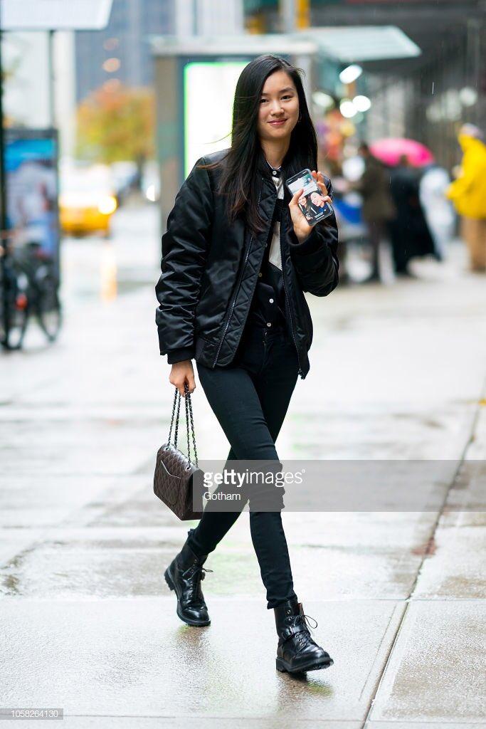 0a3314b6055 Estelle Chen attends fittings for the 2018 Victoria s Secret Fashion Show   VSFashionShow  vsfs18pic.twitter.com QWcCJXGXR6