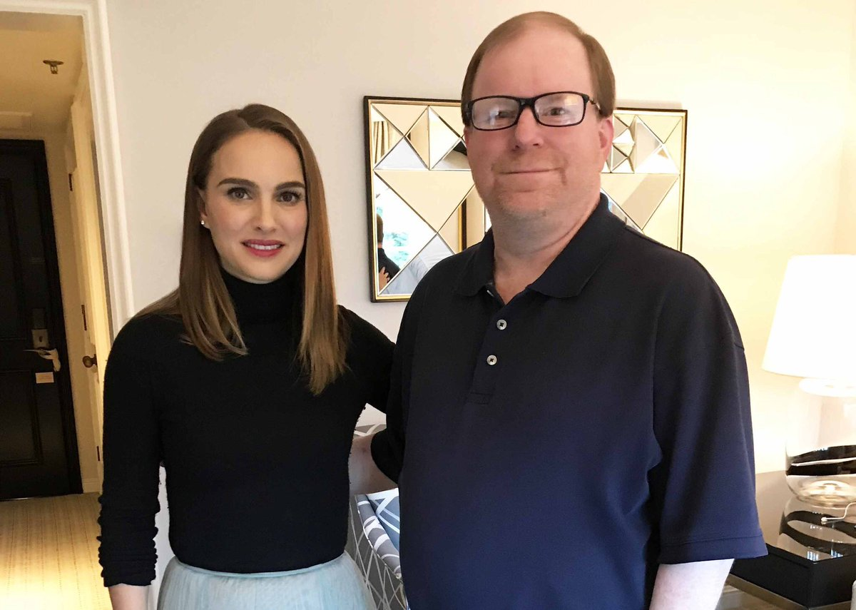 Natalie Portman attends the Vox Lux press junket (November 5, 2018)