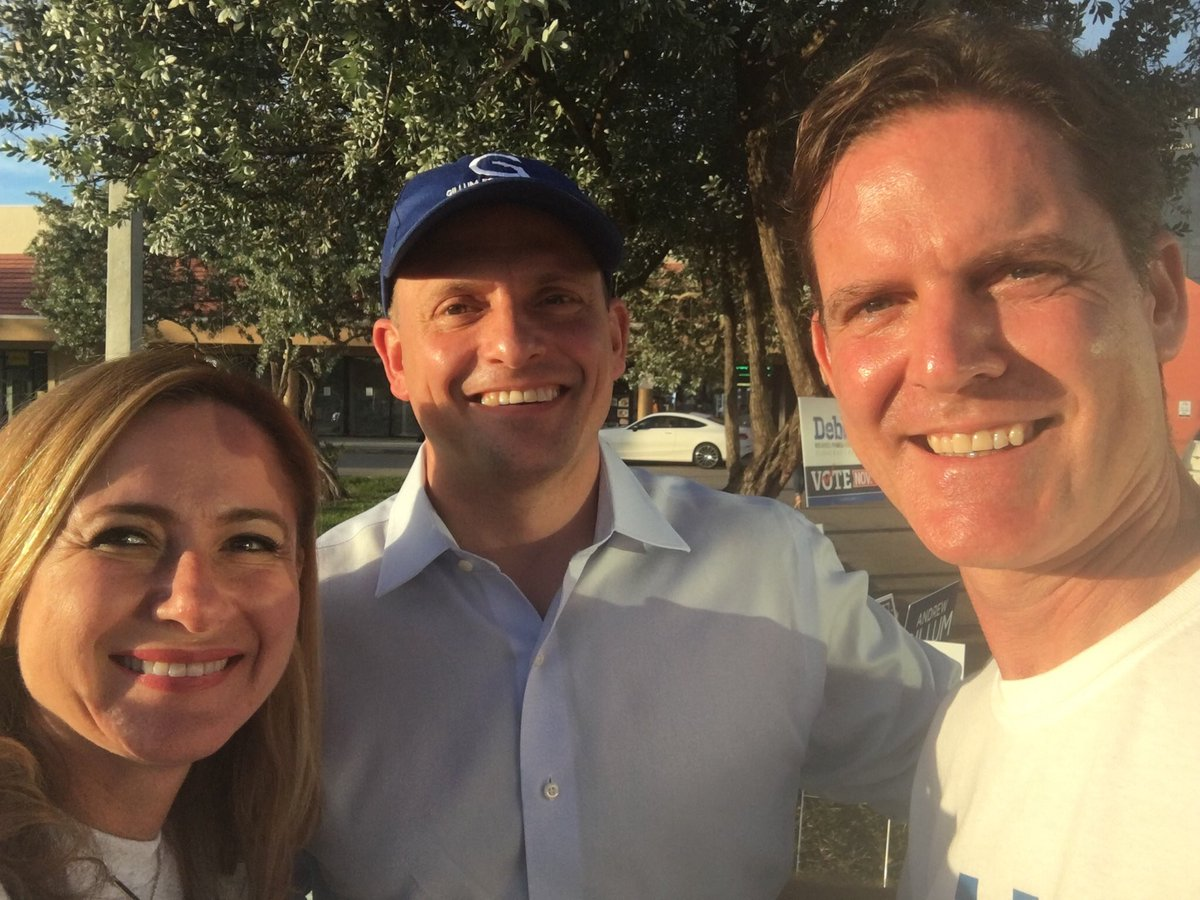 Thank you @JoseJavierJJR for coming out to support and #GOTV let's #BringItHome #FL26