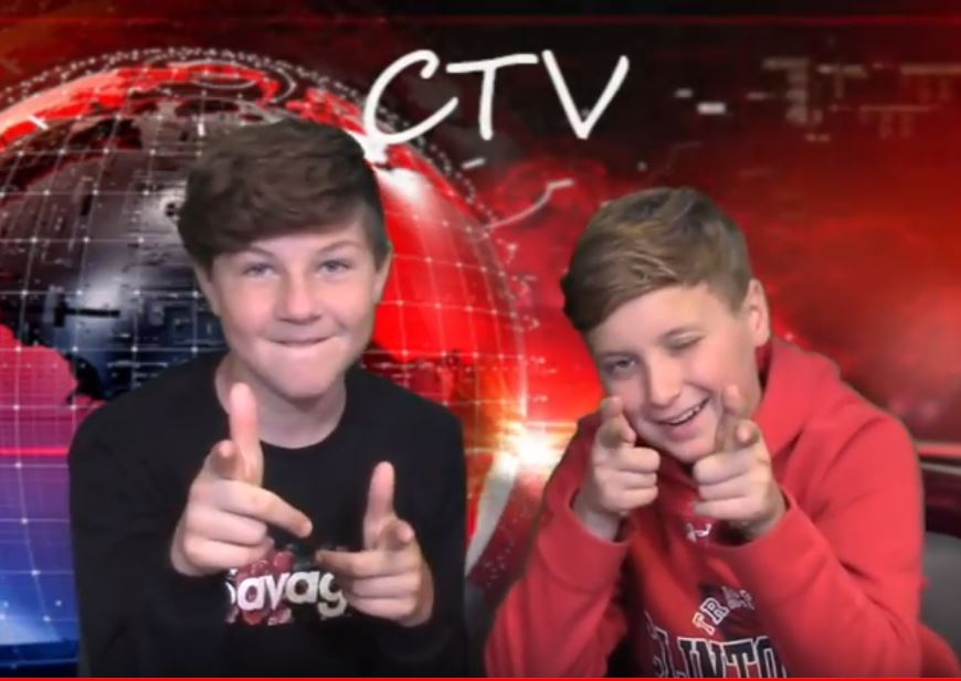 CTV Fall Episode Clips - These students love being on camera! @CMSCardinals @ClintonMoCards
