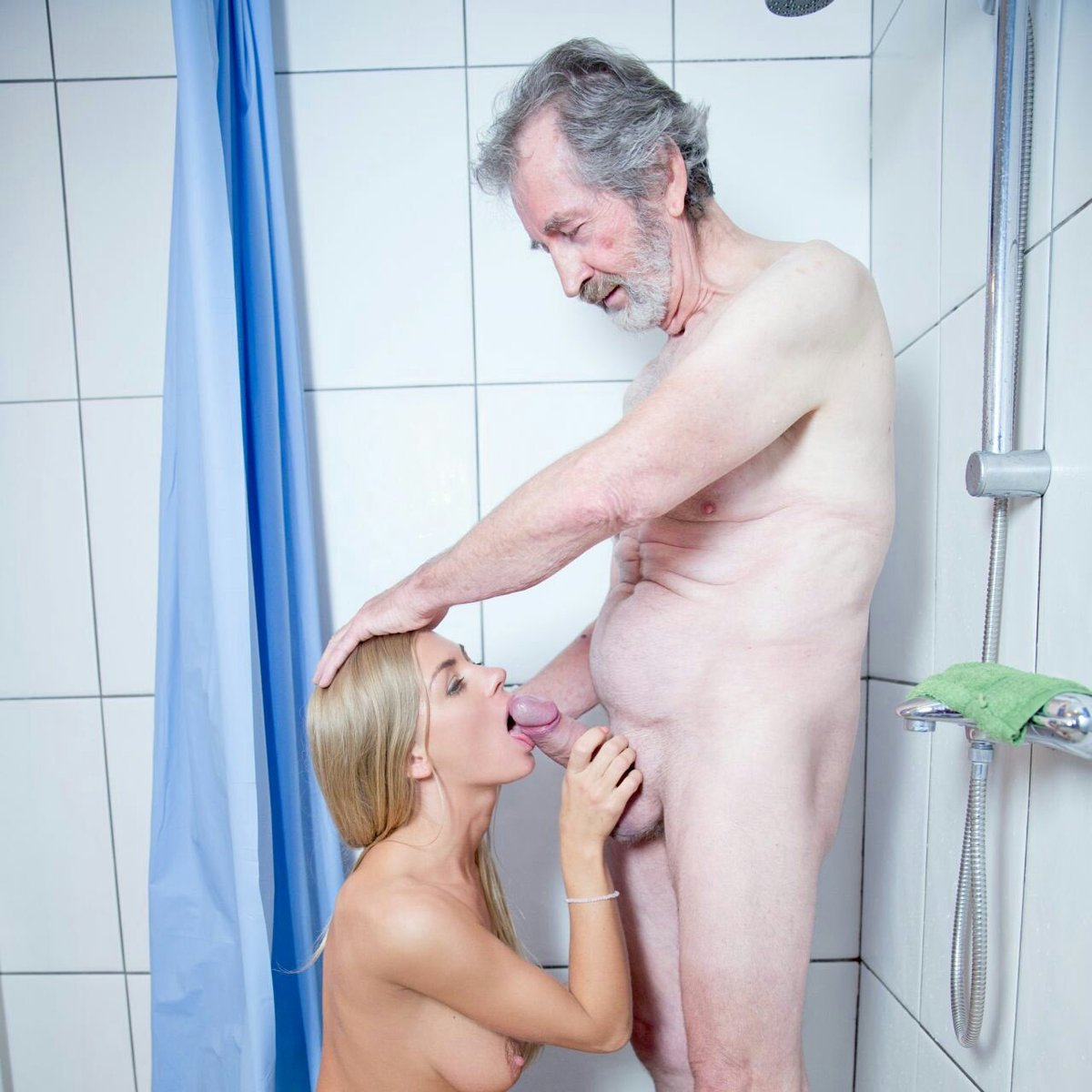 Stepson Caught Watching Dad Shower Made To Suck His Hairy Cock