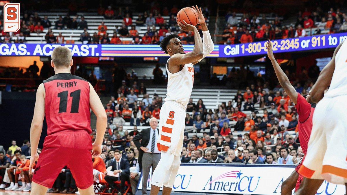 Syracuse opens 2018-19 hoops season tonight vs. Eastern Washington (preview & info)