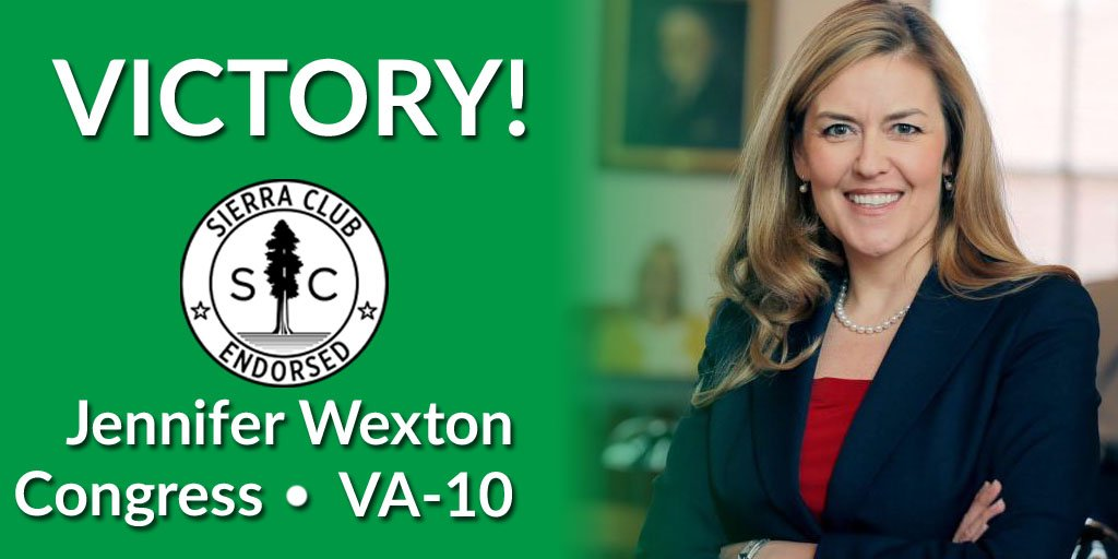 Congratulations to @JenniferWexton for her victory in #VA10!