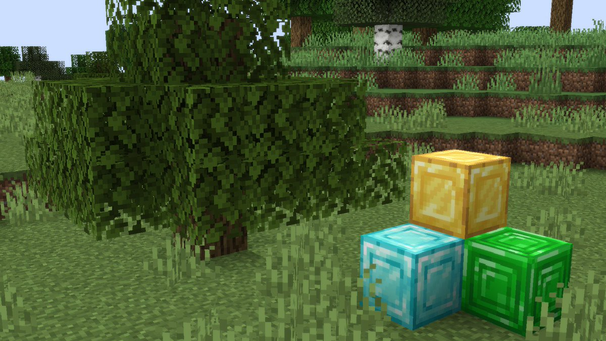 The New Textures In Minecraft 1 14 V3 Snapshot Https Www Youtube