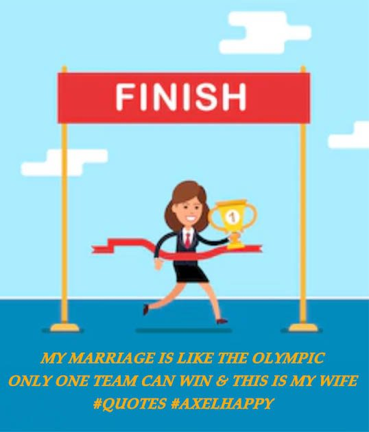 Axelhappy On Twitter My Marriage Is Like The Olympic Only One