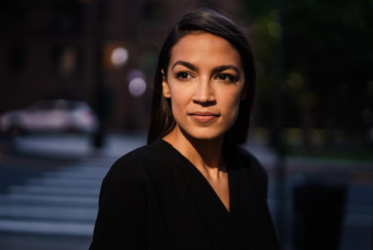 HISTORY! Alexandria Ocasio-Cortez just became the youngest woman ever elected to Congress!