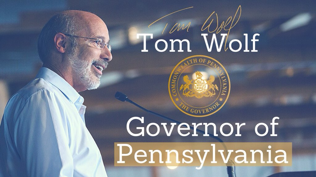 It's an honor to be your governor. Together, we're moving our commonwealth forward.