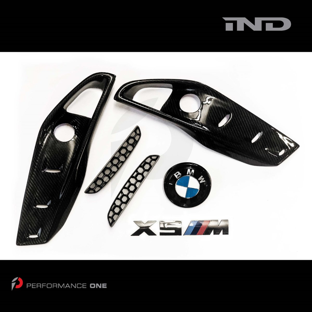 f85x5m hashtag on twitter BMW M4 Chrome rear reflector inserts in matteblack indstyle black chrome emblem glossblack trunk roundel rkp posites carbonfiber front bumper inserts