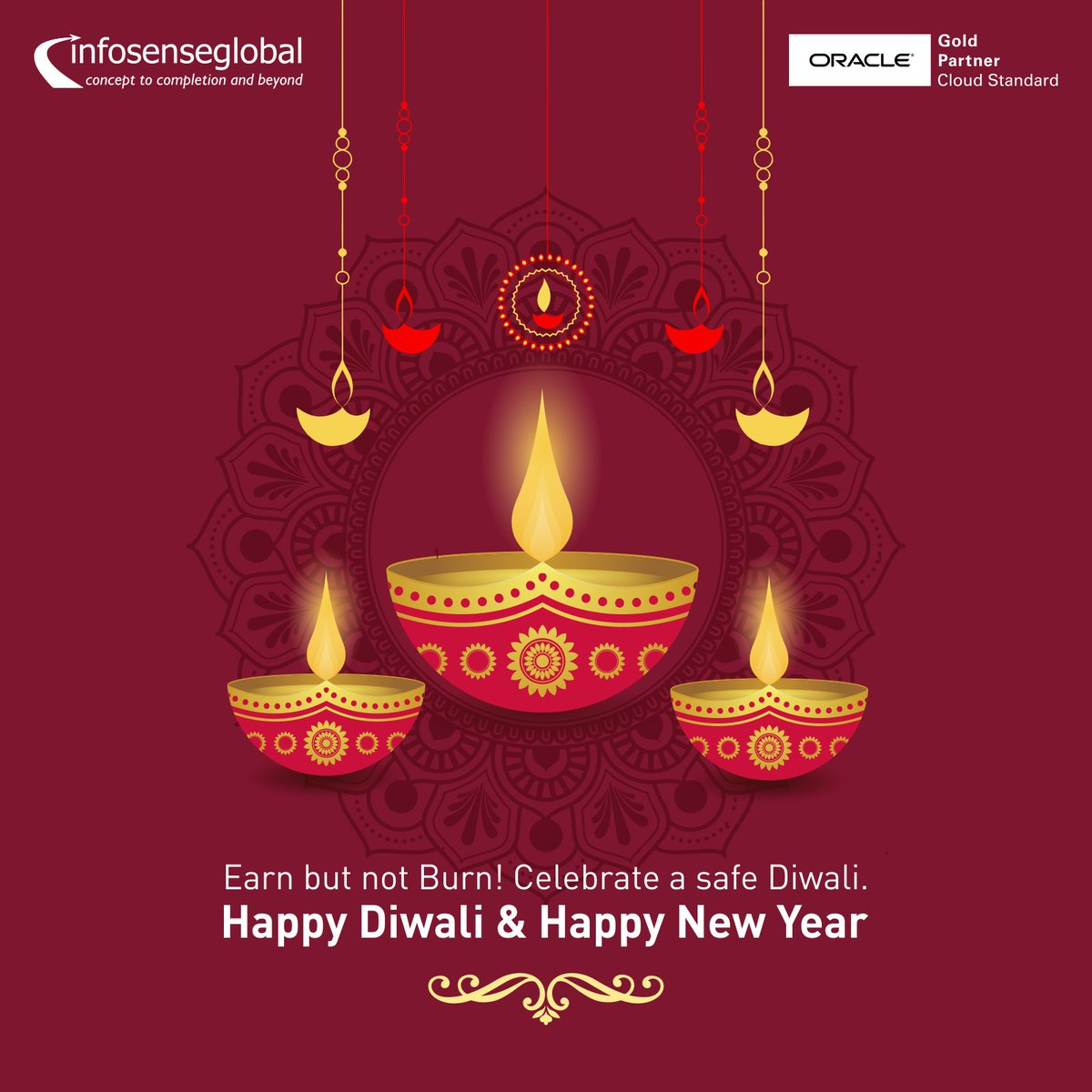 Happy New Year And Happy Diwali Images 21