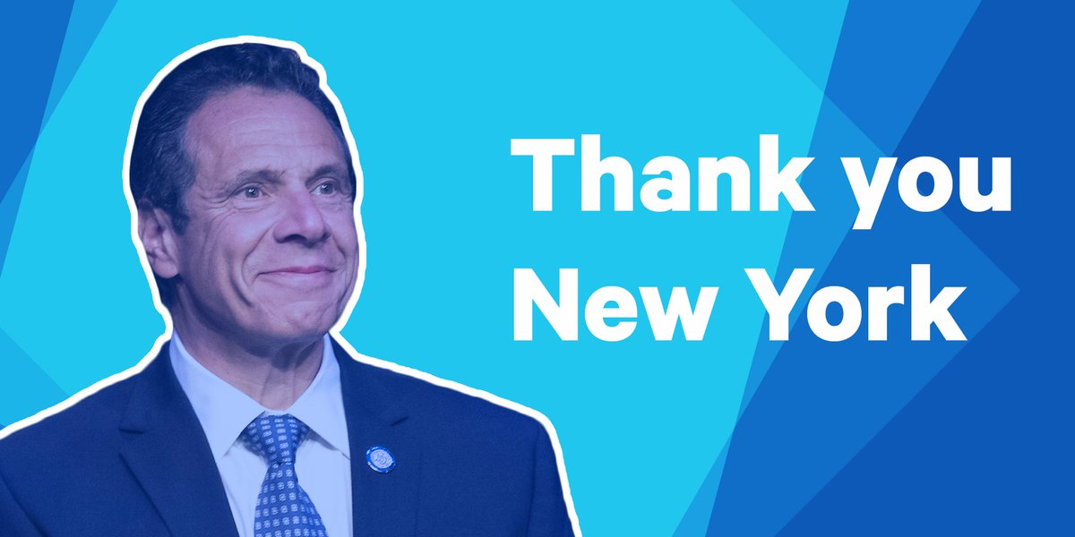 It's an honor to fight evey day for every New Yorker. New York will always lead the way forward.