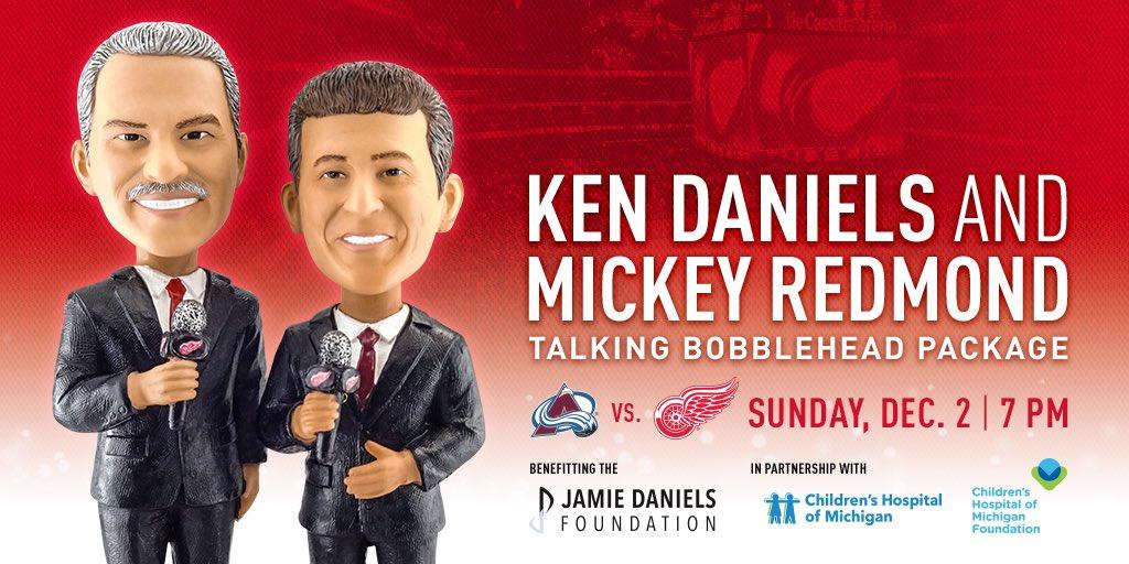 Ken Daniels: You can get a Ken Daniels & Mickey Redmond