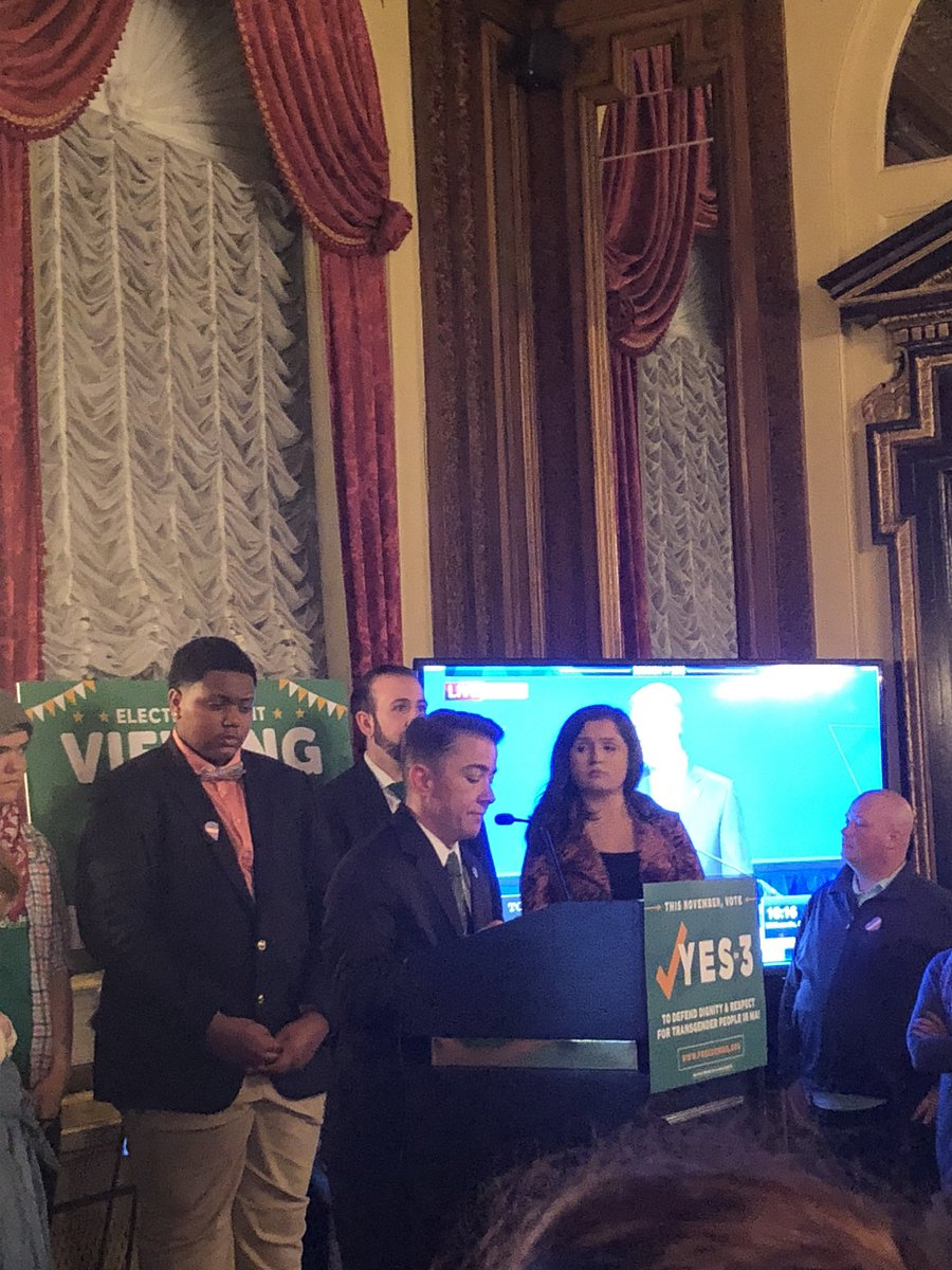 """We have aggressively debunked the myth once and for all that protecting #transgender people from discrimination is a safety risk for anyone else."" — @KaseySuffredini #YesOn3"