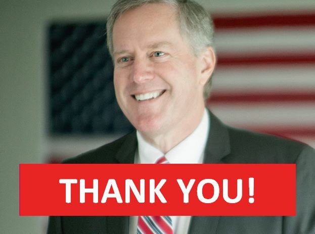 Thank you, western North Carolina, for giving me the honor of serving you for another term in Congress