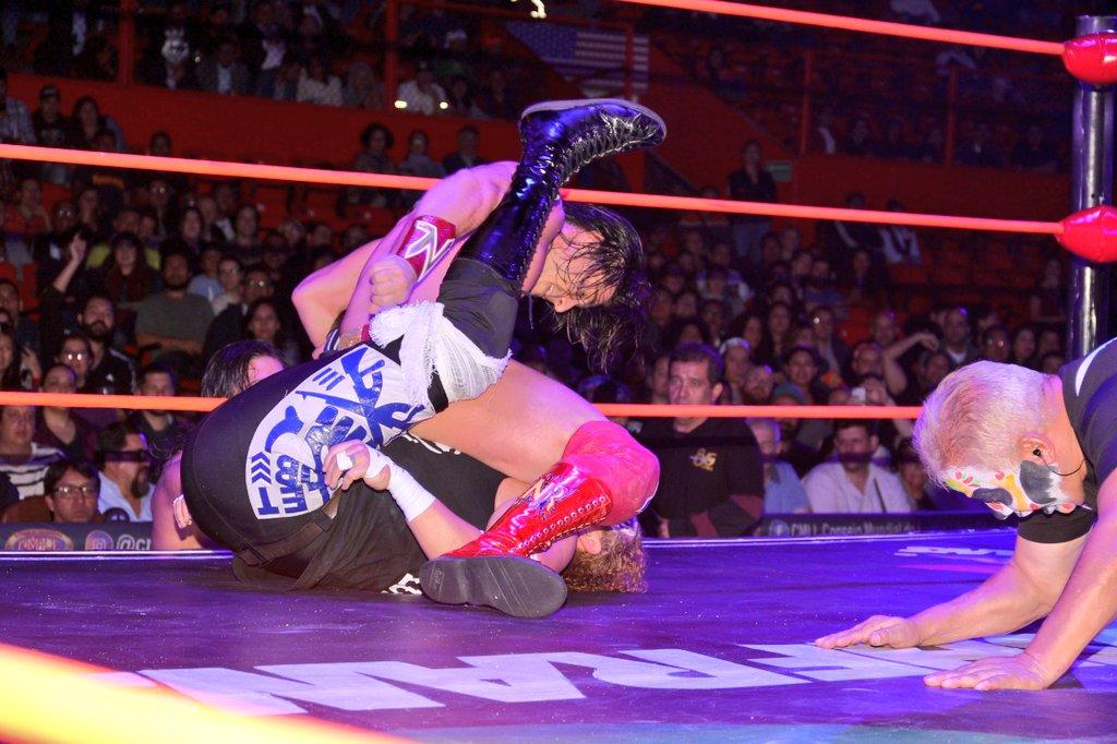 CMLL: Una mirada semanal al CMLL (Del 1 al 7 de noviembre de 2018) 18