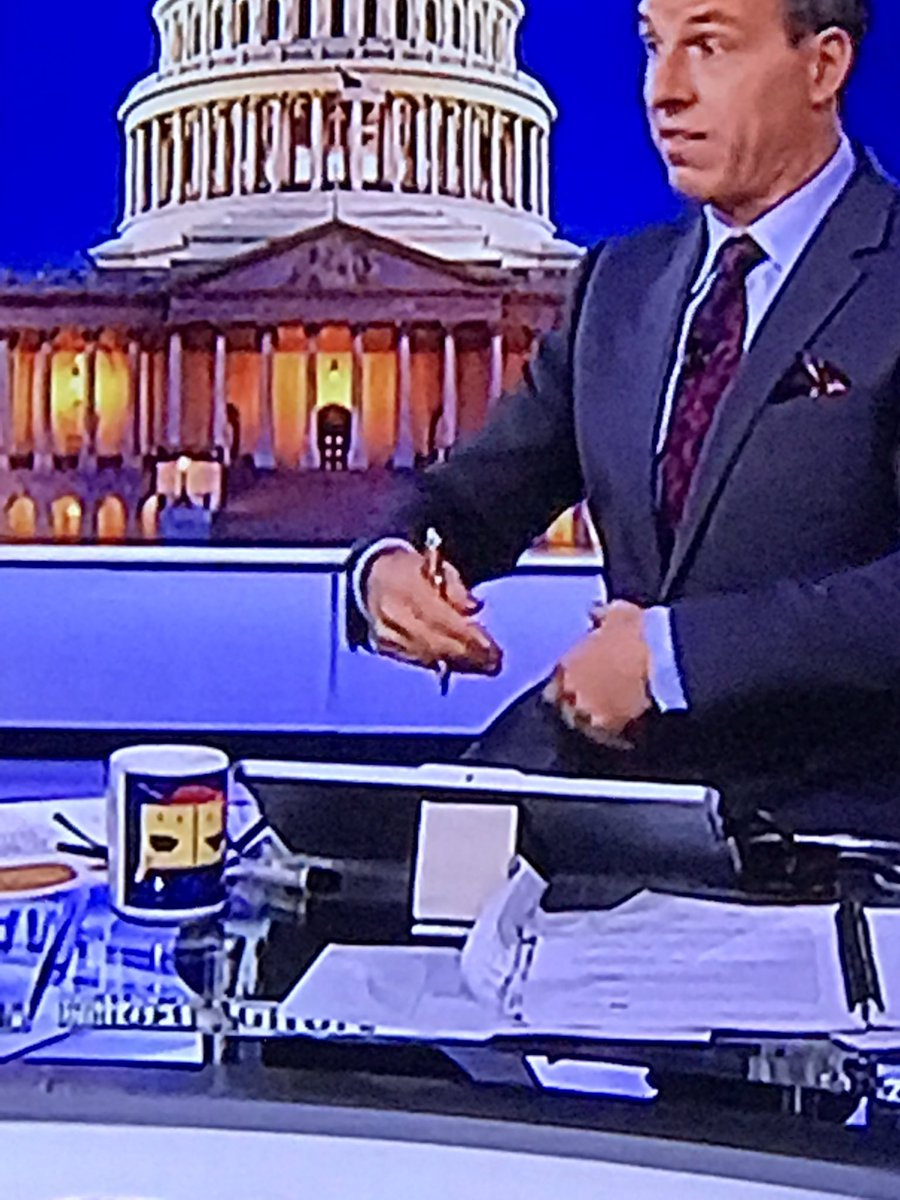 I have so many questions about @jaketapper's special mug.