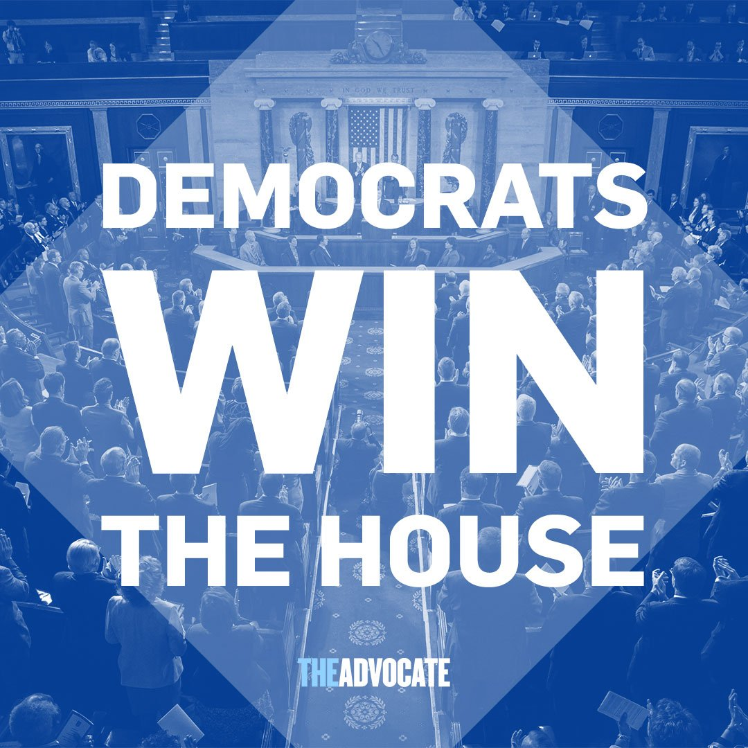 Democrats take the House, reports CNN! #ElectionNight #Midterms2018