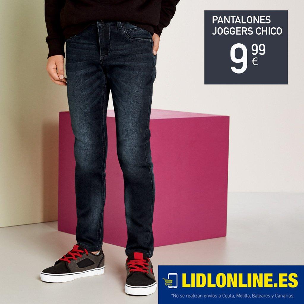 fd7743bdd9 Joggers para chico con la comodidad de un pantalón de chándal y el aspecto  de unos vaqueros. En nuestras tiendas el 08 11 y también disponible ONLINE   ...