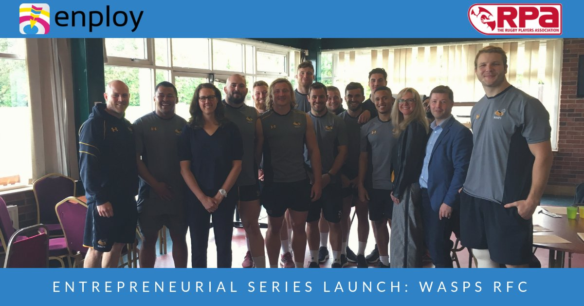 test Twitter Media - Transitioning from elite sport to business can be tough. We're thrilled to kick off our entrepreneurial series with @theRPA last week  You can find out ore here: https://t.co/X6AvSSXL85 https://t.co/IB5L7Q4rC2