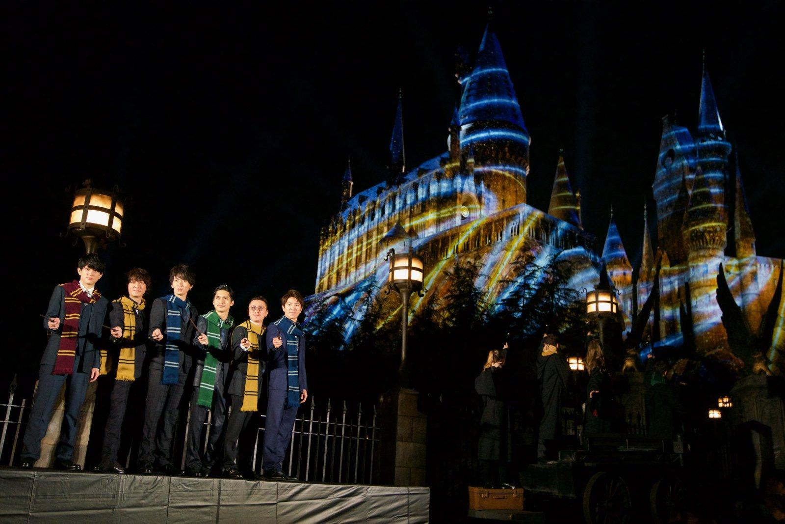 #USJ 関ジャニ∞ がセレモニーに参戦!ハリー・ポッター最大の魔法が解禁  を公開。#関ジャニ #関ジャニエイト #エイト